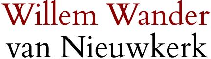 Willem Wander van Nieuwkerk